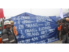 10 000 miners to go on strike at Indonesian mine