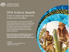 2014 Science and Innovation Award grant applications now open