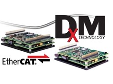 'DxM' technology allows control of up to 4 axes of servo motion from a single node on the EtherCAT network