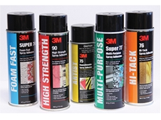 Aerosol spray adhesives claim to improve efficiency