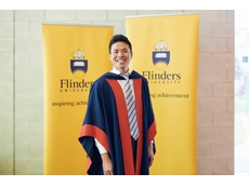 Dr Ryan Cheng, a higher degree research student at Flinders University.