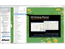 The two new extensions for Altium Designer, the ICD Stackup Planner and ICD Power Distribution Network (PDN) Planner, are accessible from within the design tool to provide for seamless analysis.