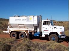 Ammonium nitrate truck accident