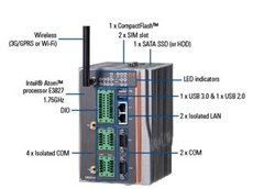 Axiomtek rBOX510-6COM fanless embedded system