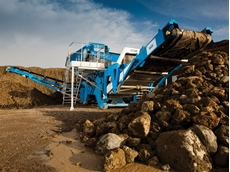 Creagh Concrete, a sand and gravel producer in Northern Ireland introduced the new R2500 to their production as a primary screening unit