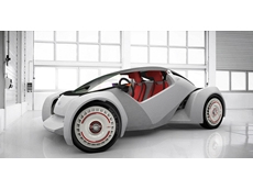 Car 3D printed, driven at International Manufacturing Technology Show