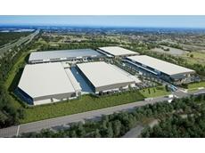 Civil works complete on high-calibre industrial estate
