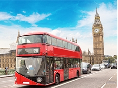 Coffee waste powers London's red buses