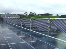 Greenland supplied and coordinated the installation of sixty solar collectors of their patent registered type GLX100