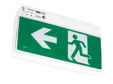 The new monitoring system ensures the reliability and integrity of emergency lighting and exit systems