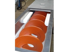Conveyor rollers are a prime application of Duromer FRAS-approved products