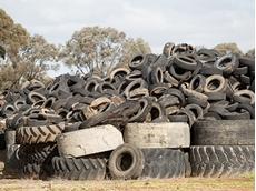 EPA Victoria warns of tyre stockpile fire hazard