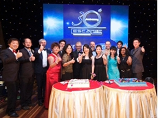 ESCATEC's 30th birthday party was held in Penang, Malaysia with over 500 staff, friends and customers attending
