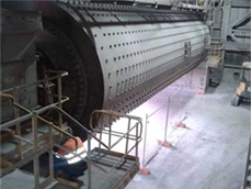 The Sunstate tube mill on which FAG SmartCheck was installed