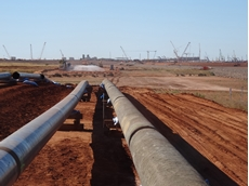 ​FMG gas pipeline completed
