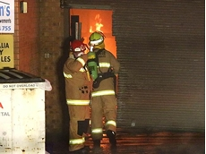 Fire destroys western Sydney furniture factory