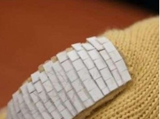 Fish scales inspire pierce-resistant gloves