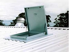 Roof access hatchways offer an excellent solution for preventing various roof related accidents at work
