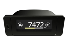 Flintec launch easy fit, touch screen, on-board vehicle weight indicator