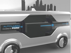Ford reveals self-driving 'Autolivery' van concept