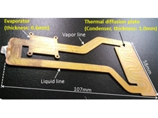 ​FUJITSU Laboratories has developed the world's first thin cooling device for small, think electronic devices.