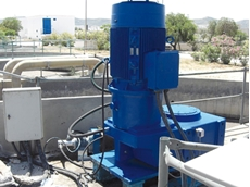 Gear units ensure smooth operation in wastewater applications