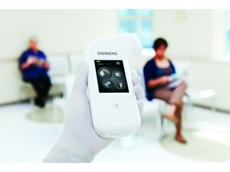 SIEMENS has fully launched a handheld medical analyser which uses test strips made by Universal Biosensors in Victoria.