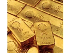 Gold hits four year low