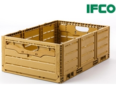 IFCO Wood Grain Reusable Plastic Containers now available for wet & dry produce
