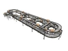 Interroll's modular conveyor platform
