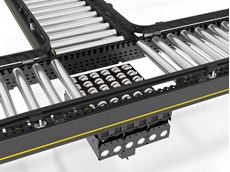Interroll's modular conveyor platform allows for easy repositioning of individual modules