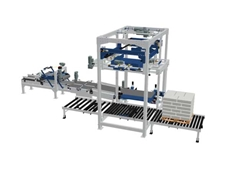The world's most user-friendly bag palletiser - Terram 1000 (Image: Newtec Bag Palletizing)