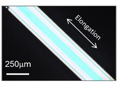 Japanese researchers develop rubber-like super glass