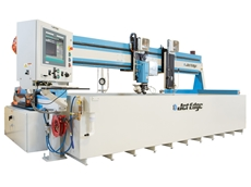 Jet Edge waterjet system