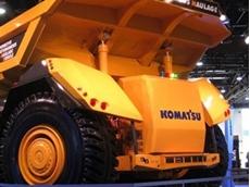 Komatsu unveil cabless autonomous trucks