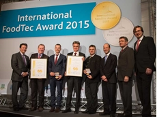 Krones won two Golds at the International FoodTec Awards 2015