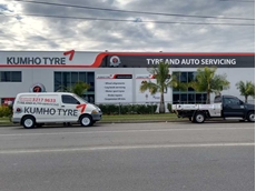 Kumho's new Tyre Platinum Dealership in Morningside