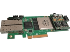 The low-profile FPGA computing card is engineered to accelerate networking and financial applications. [Image: Accelize]