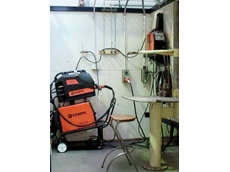 A welding bay at CIT equipped with Kemppi welding equipment