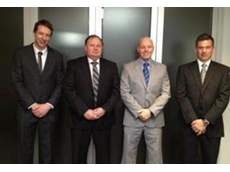 David Mills (2nd to the left) and his sales team