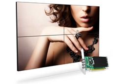 Matrox C420 video card for digital signage