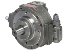 Moog launches a new size of high-pressure (350 bar) radial piston pumps (Photo: Moog)