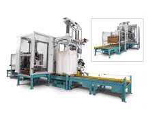 NBE automated bulk material handling and packaging system