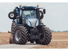 The NHDrive concept tractor is designed to offers operational flexibility, as it features the same cab as a standard T8.
