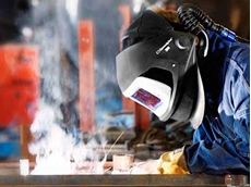 3M Speedglas Welding Helmet 9100 Air in use