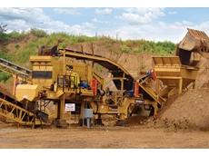 Sidewinder mining crusher