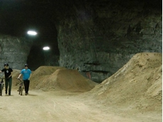 Old mine turned into bike park