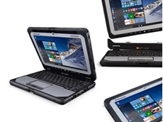 Panasonic unveils fully rugged detachable laptop