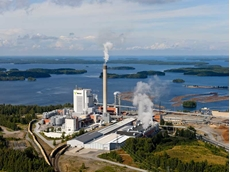 Metsä Fibre Oy plant where Sepura's communications system has been installed
