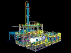 Screenshot of a meg regeneration package from Shah Deniz 2